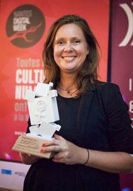 Emilie, Lauréate du Prix de l'Intrapreneuse du Digital 2015